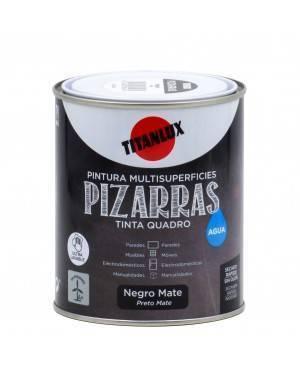 Titan Pittura ad acqua nera Titan 750 ml
