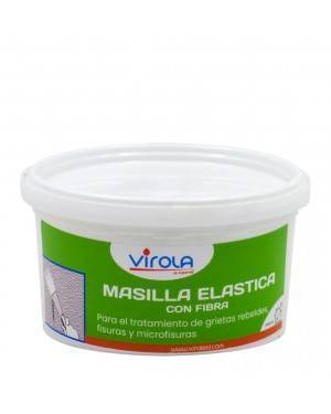 Elastic putty with fiber Virola