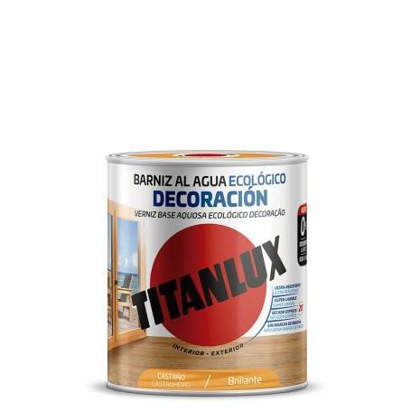 Ecological Water-based Varnish Glossy Decoration Titanlux