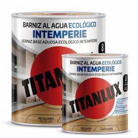 Ecological Outdoor Water-based Satin Varnish Titanlux