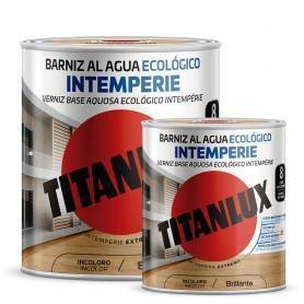Ecological Outdoor Water-based Glossy Varnish Titanlux