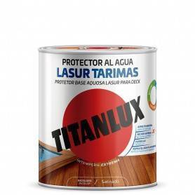 Water-based satin wood protector for wooden floors Titanlux
